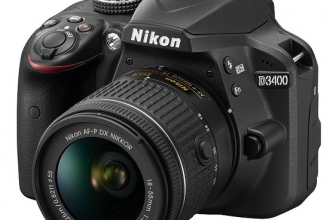 Nikon D3400 – A Beginners DSLR Camera with SnapBridge